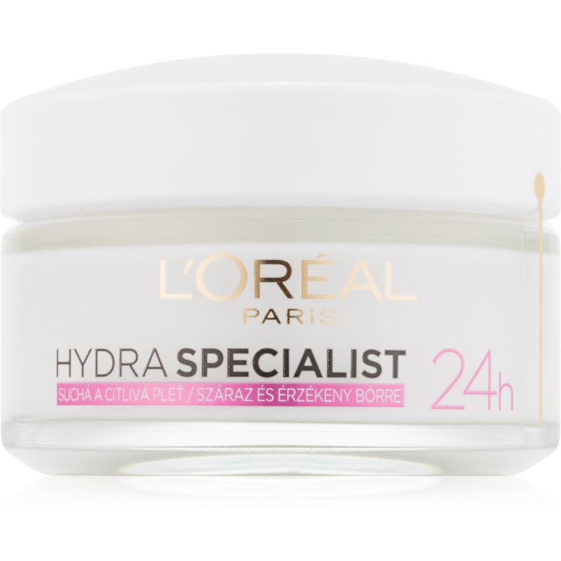 L'Oréal Paris Hydra Specialist nappali hidratáló krém az érzékeny száraz bőrre