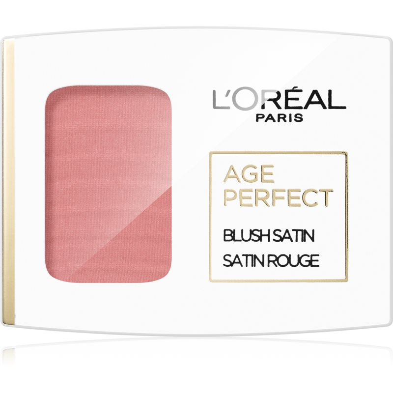 L'Oréal Paris Age Perfect Blush Satin blush culoare 101 Rosewood 5 g thumbnail