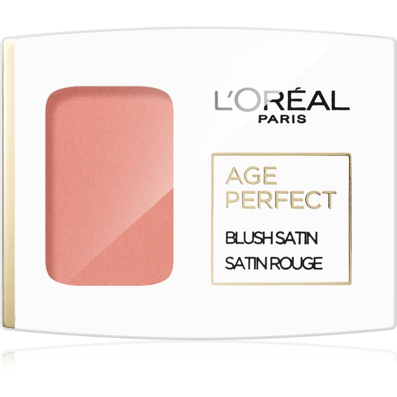 L'Oréal Paris Age Perfect Blush Satin blush culoare 110 Peach 5 g thumbnail