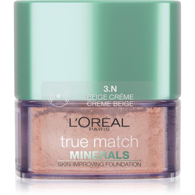 L'Oréal Paris True Match Minerals компактна тональна крем-пудра відтінок 3.N Creme Beige
