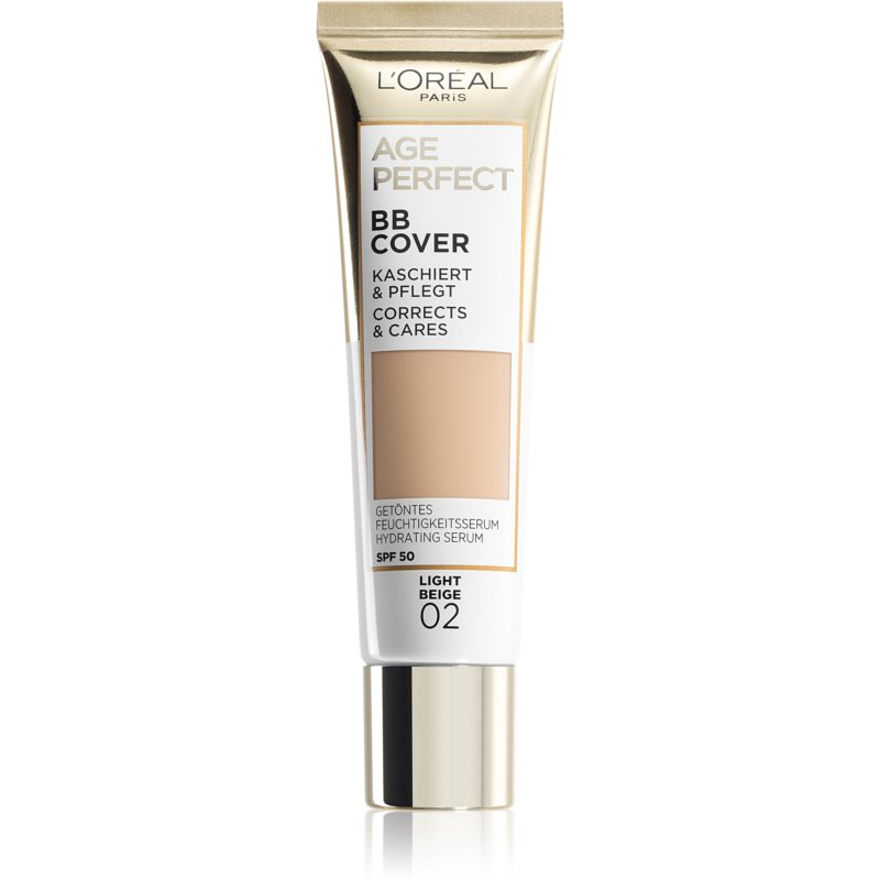 L'Oréal Paris Age Perfect BB Cover crema BB culoare 02 Light Beige 30 ml thumbnail