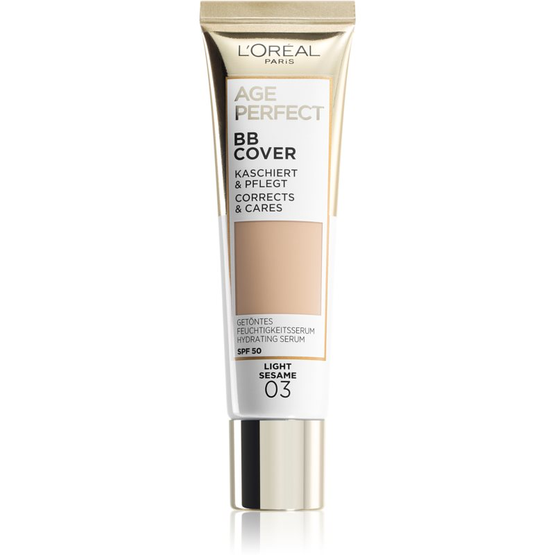 L'Oréal Paris Age Perfect BB Cover crema BB culoare 03 Light Sesame 30 ml thumbnail