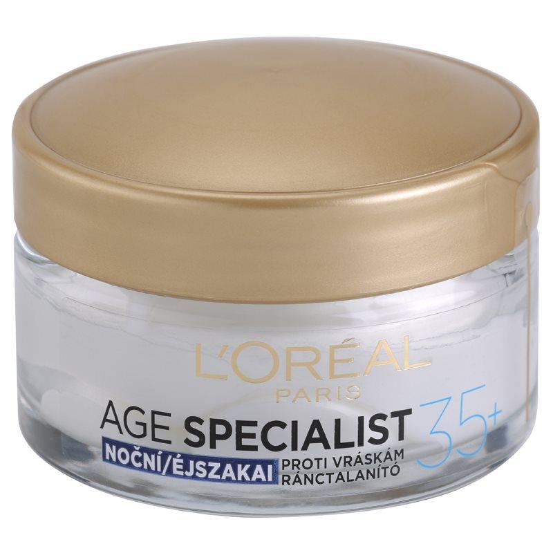 L'Oréal Paris Age Specialist 35+ crema de noapte antirid 50 ml thumbnail