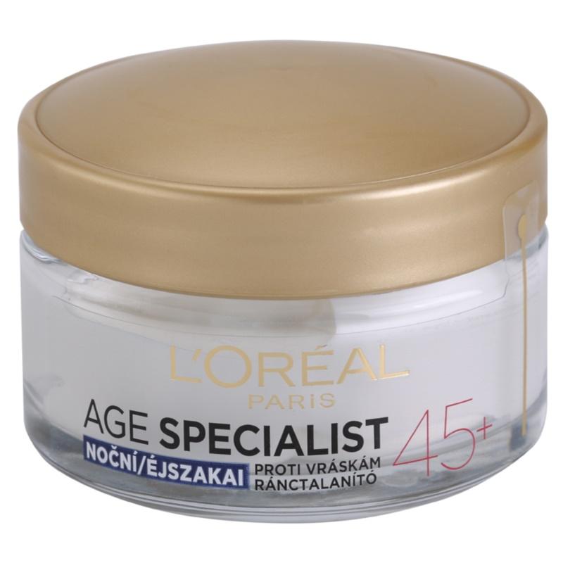 L'Oréal Paris Age Specialist 45+ crema de noapte antirid 50 ml thumbnail