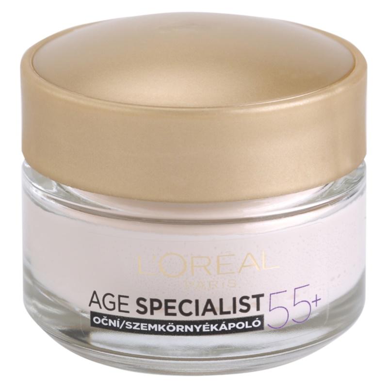 L'Oréal Paris Age Specialist 55+ crema de ochi antirid 15 ml thumbnail