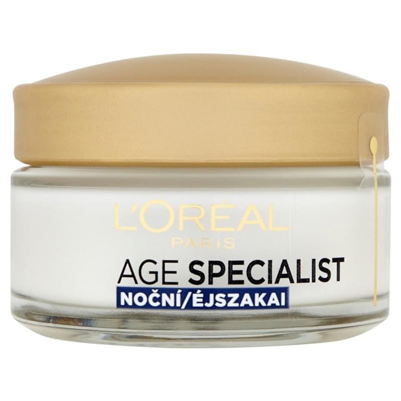 L'Oréal Paris Age Specialist 65+ crema de noapte hranitoare antirid 50 ml thumbnail