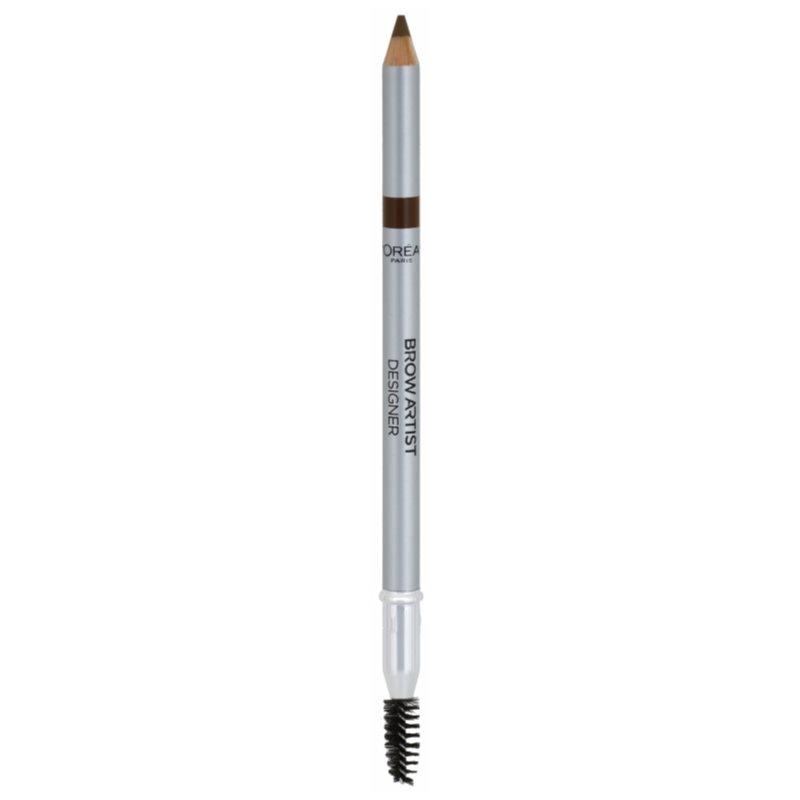 L'Oréal Paris Brow Artist Designer creion pentru sprancene culoare 302 Light Brunette thumbnail