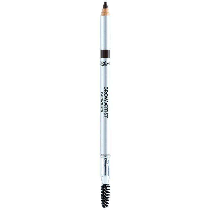 L'Oréal Paris Brow Artist Designer creion pentru sprancene culoare 303 Dark Brunette thumbnail