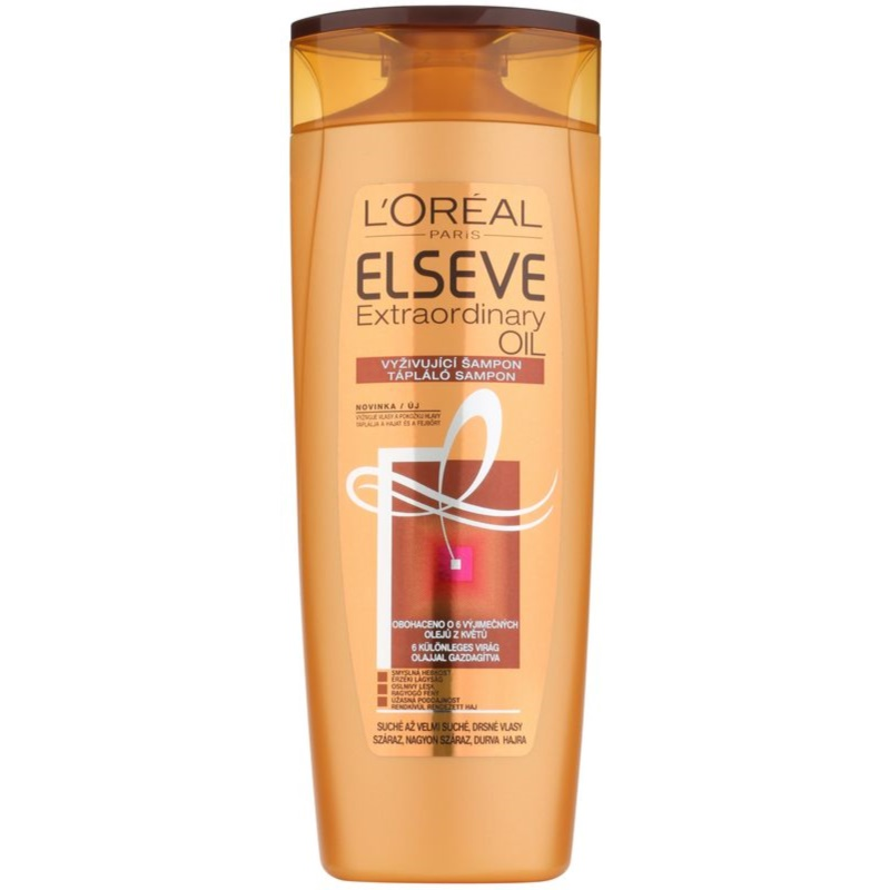 L'Oréal Paris Elseve Extraordinary Oil champú para cabello muy seco 400 ml