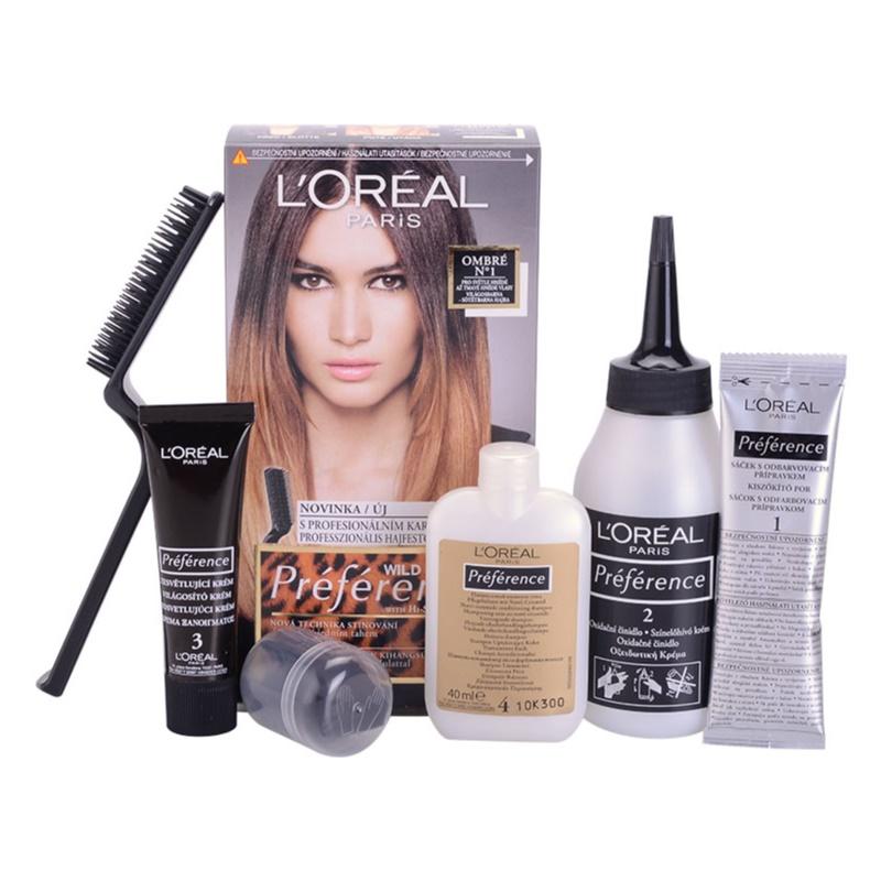 L'Oréal Paris Préférence Wild Ombrés Haarkleuring