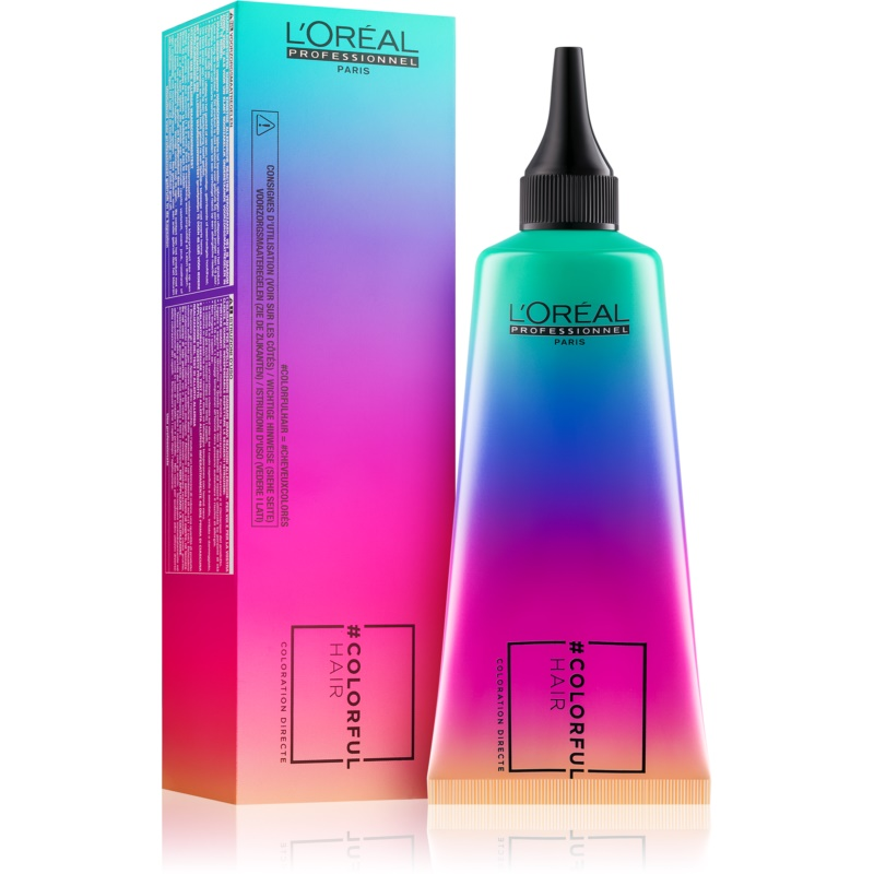L'Oréal Professionnel Colorful Hair Pro Hair Make-up vopsea de par semi-permanenta culoare Iced Mint 90 ml thumbnail
