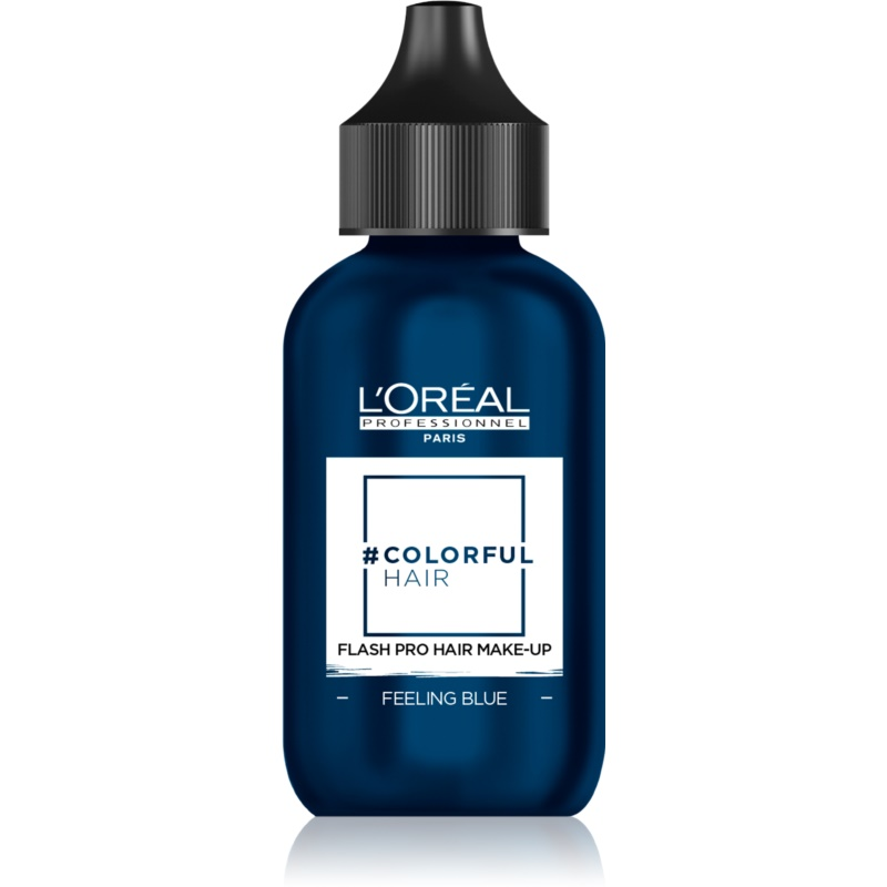 L'Oréal Professionnel Colorful Hair Pro Hair Make-up machiaj de păr pentru o zi culoare Feeling Blue 60 ml thumbnail