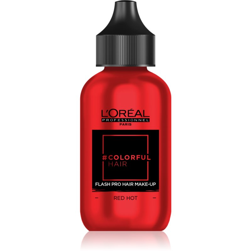 L'Oréal Professionnel Colorful Hair Pro Hair Make-up machiaj de păr pentru o zi culoare Red Hot 60 ml thumbnail