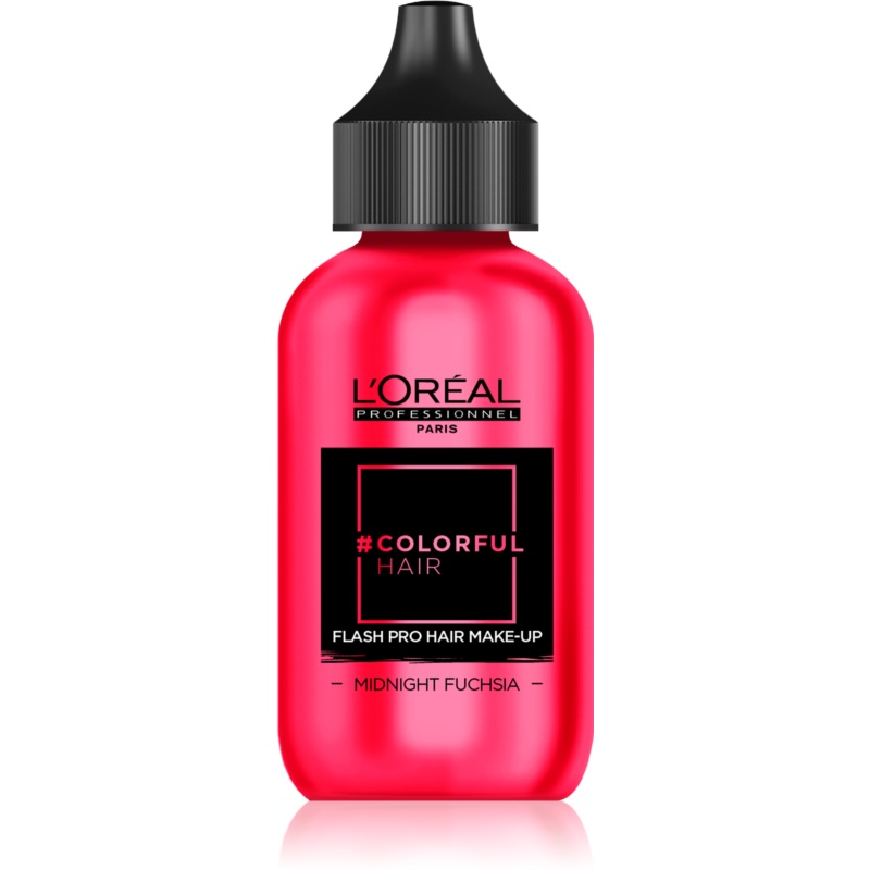 L'Oréal Professionnel Colorful Hair Pro Hair Make-up machiaj de păr pentru o zi culoare Midnight Fuchsia 60 ml thumbnail