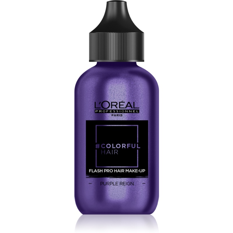 L'Oréal Professionnel Colorful Hair Pro Hair Make-up machiaj de păr pentru o zi culoare Purple Reign 60 ml thumbnail