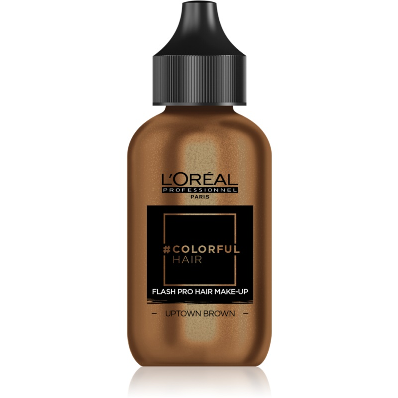 L'Oréal Professionnel Colorful Hair Pro Hair Make-up machiaj de păr pentru o zi culoare Uptown Brown 60 ml thumbnail
