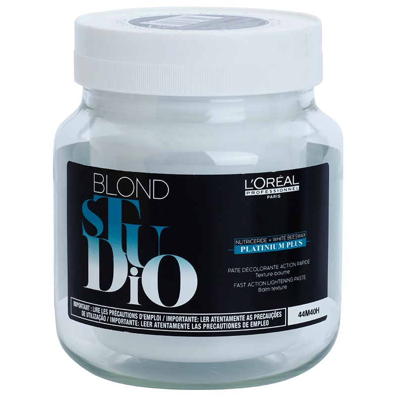 L'Oréal Professionnel Blond Studio Platinium Plus crema decoloranta 500 ml thumbnail