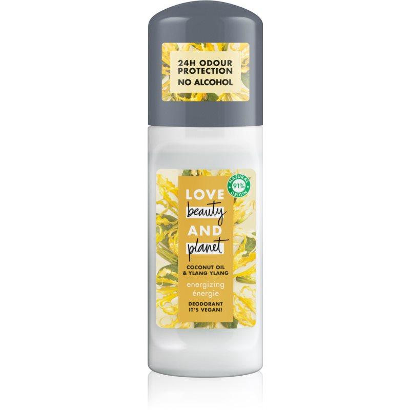 Love Beauty & Planet Energizing golyós dezodor roll - on 50 ml
