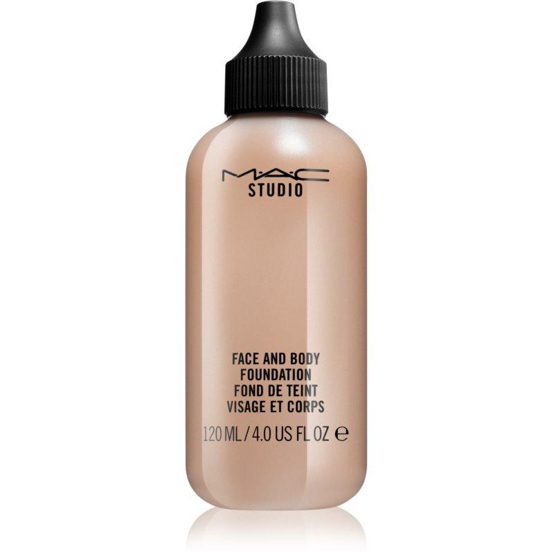 MAC Studio maquillaje para rostro y cuerpo fórmula ligera formato ahorro N5 120 ml