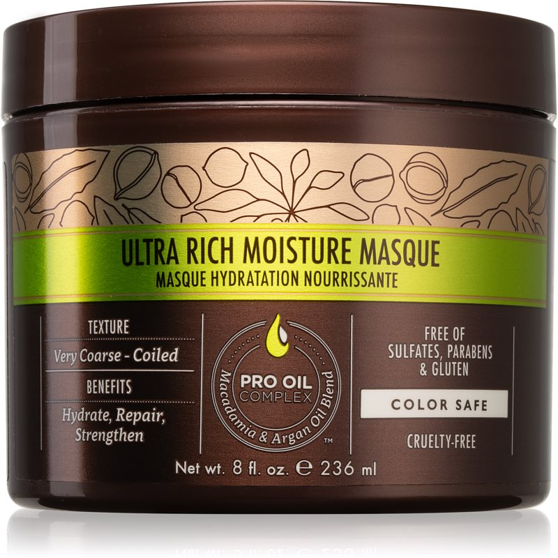 Macadamia Natural Oil Care masque hydratant cheveux 236 ml