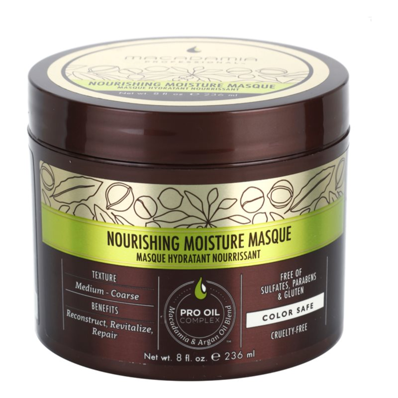 Macadamia Natural Oil Pro Oil Complex подхранваща маска за коса с хидратиращ ефект 236 мл.