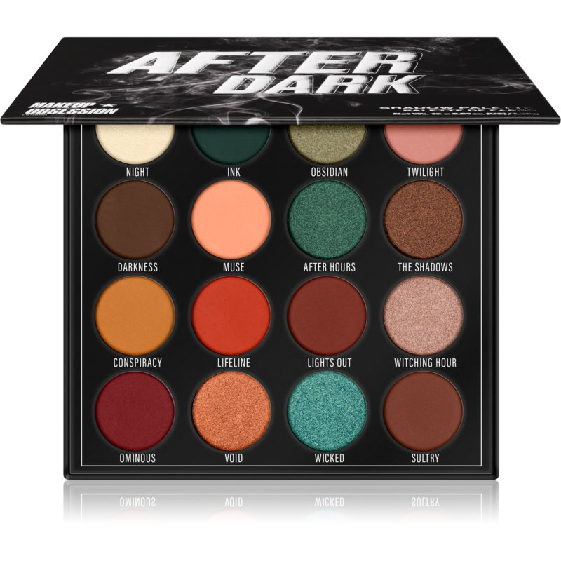 Makeup Obsession After Dark paletka očných tieňov 20,8 g