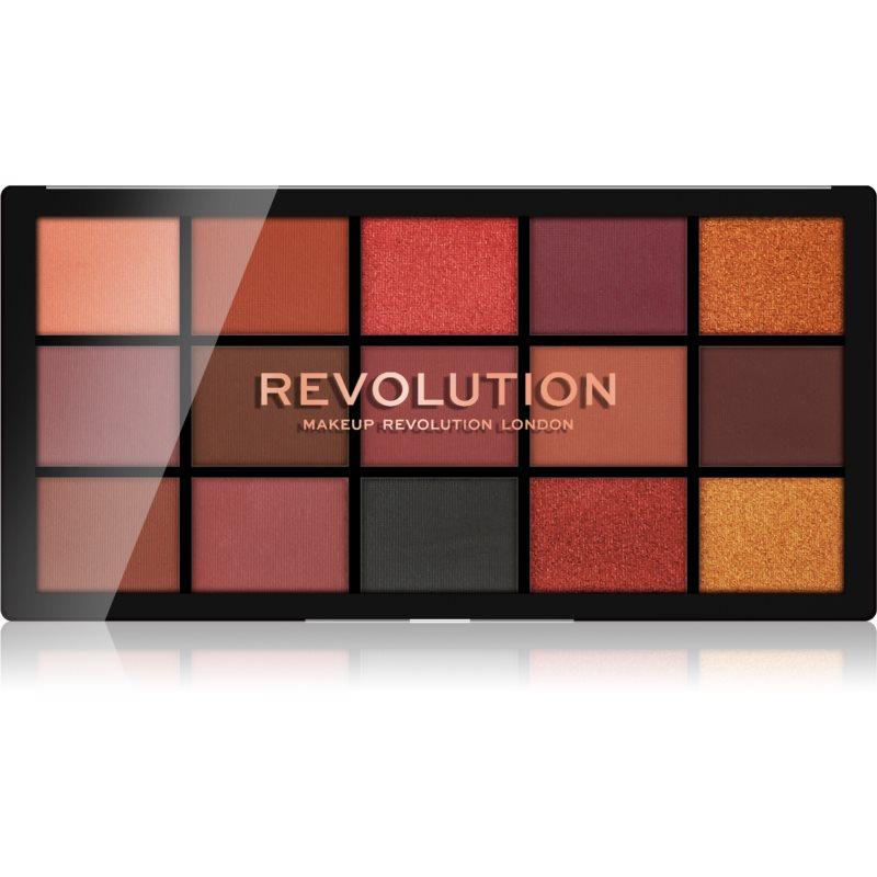 Makeup Revolution Reloaded paleta de sombras de ojos tono Newtrals 3 15 x 1,1 g