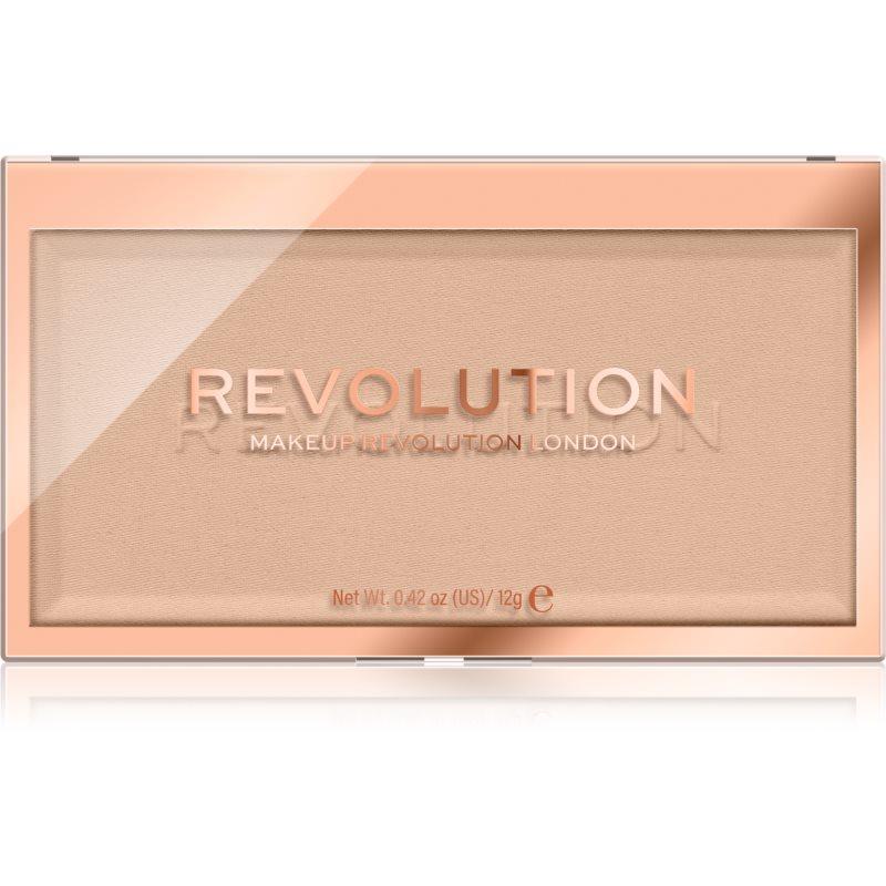 Makeup Revolution Matte Base пудра цвят P6 12 гр.