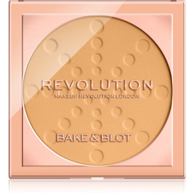 Makeup Revolution Bake & Blot pudra de fixare culoare Banana Deep 5,5 g thumbnail