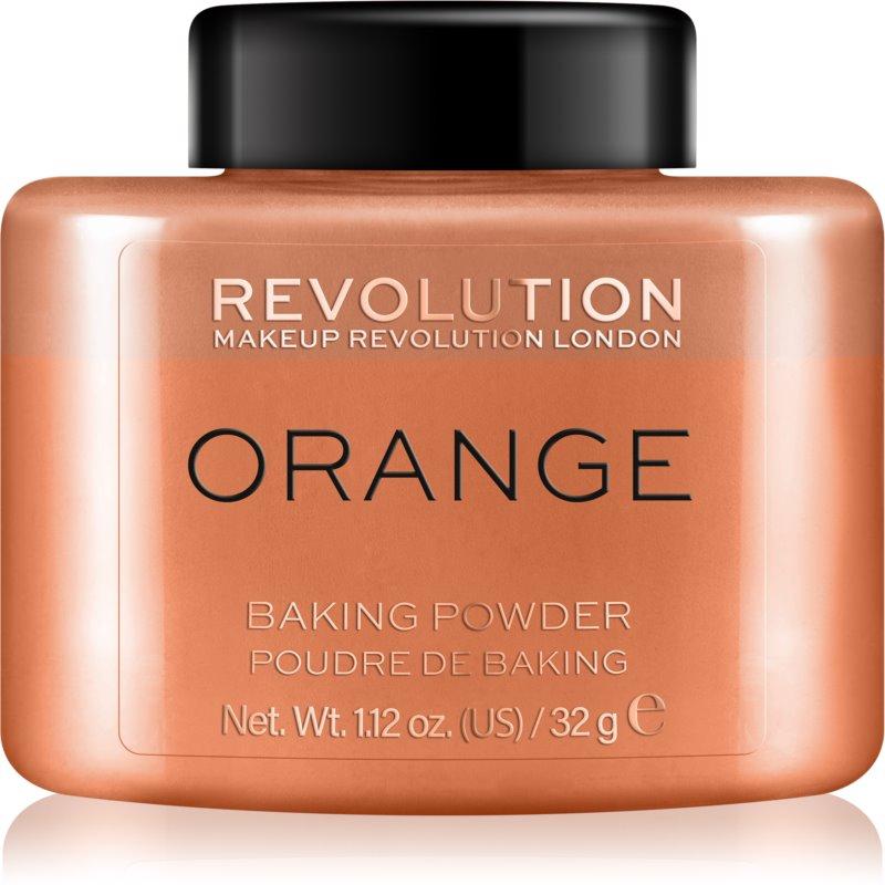 Makeup Revolution Baking Powder pudra culoare Orange 32 g thumbnail