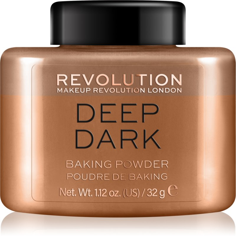 Makeup Revolution Baking Powder pudra culoare Deep Dark 32 g thumbnail