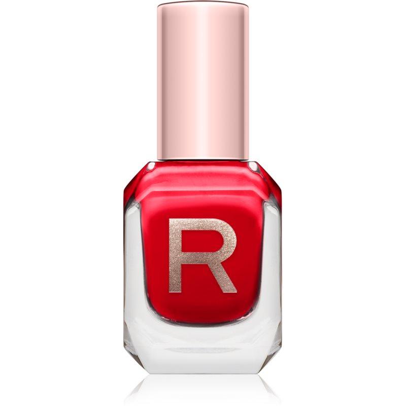 Makeup Revolution High Gloss lac pentru unghii foarte opac lucios culoare Passion 10 ml thumbnail