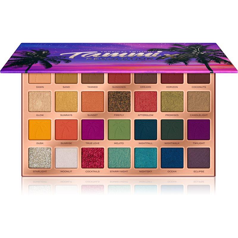 Makeup Revolution X Tammi paletka očních stínů odstín Tropical Twilight 133 g
