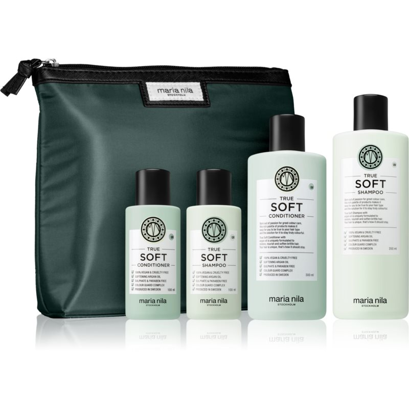Maria Nila True Soft kosmetická sada pro ženy pro suché vlasy