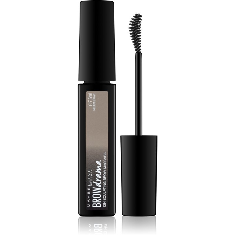 Maybelline Brow Drama mascara modelator pentru sprancene culoare Medium Brown 7,6 ml thumbnail