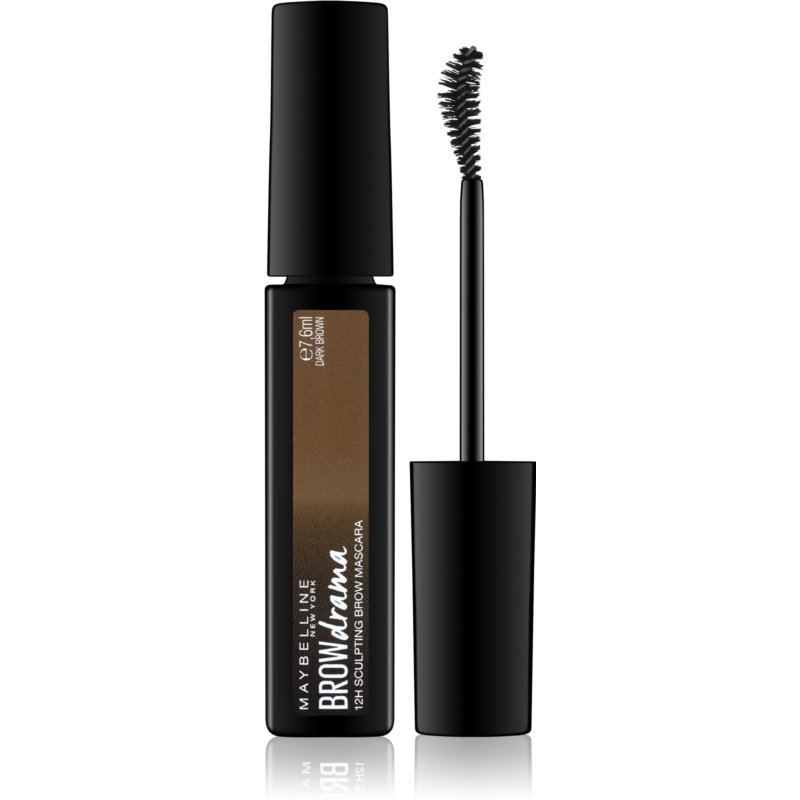 Maybelline Brow Drama mascara modelator pentru sprancene culoare Dark Brown 7,6 ml thumbnail