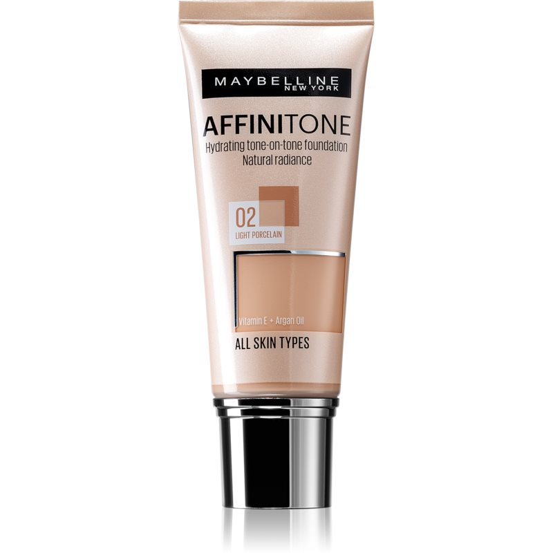Maybelline Affinitone make up hidratant culoare 02 Light Porcelain 30 ml thumbnail