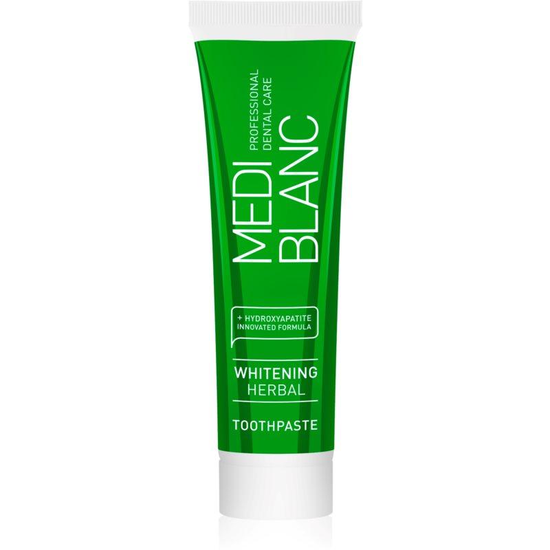 MEDIBLANC Whitening Herbal bylinná zubní pasta s bělicím účinkem 50 ml
