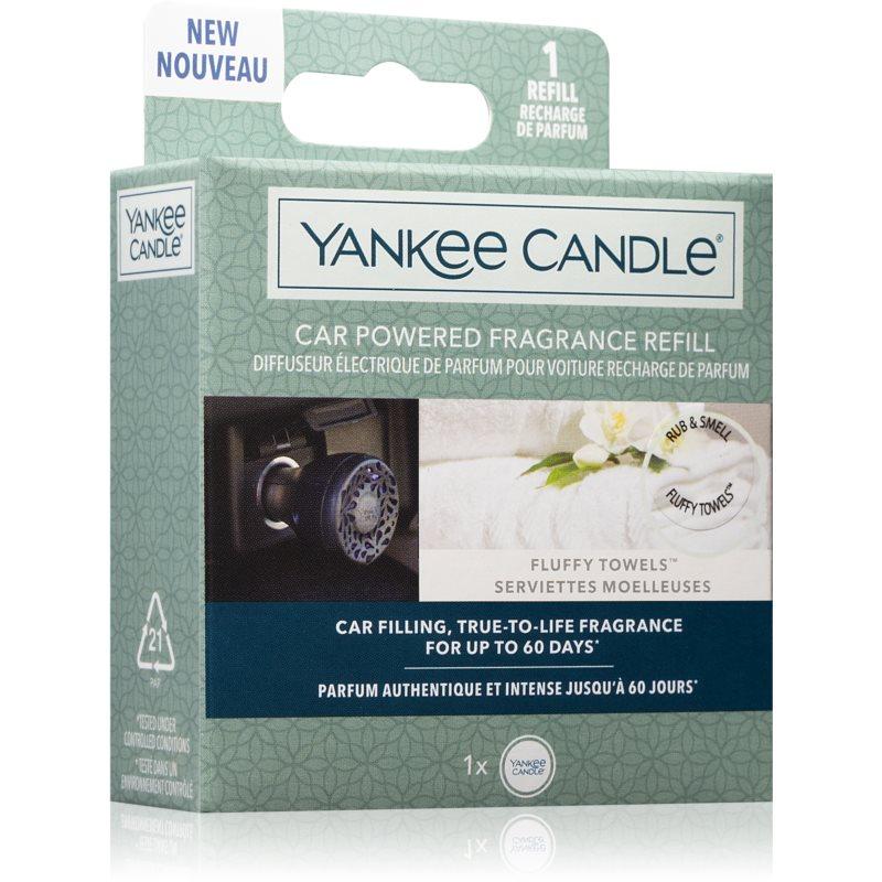 Yankee Candle Fluffy Towels vôňa do auta