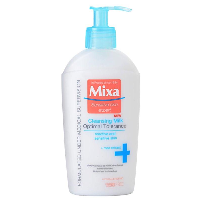 MIXA Optimal Tolerance мляко за почистване на грим 200 мл.