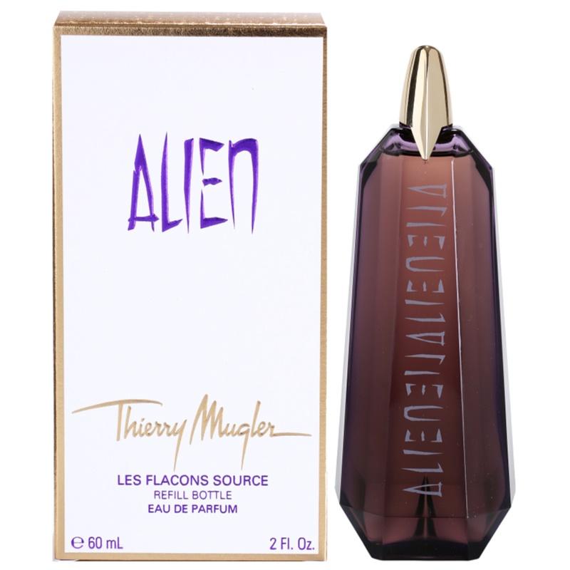 Mugler Alien eau de parfum para mujer 60 ml recarga
