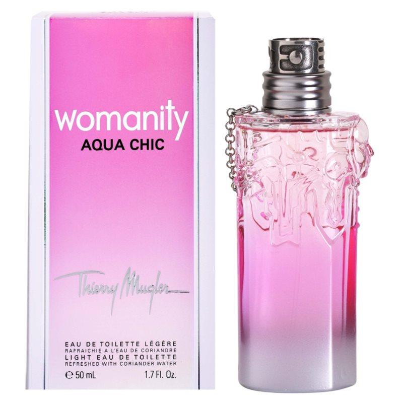 Mugler Womanity Aqua Chic 2013 Edition eau de toilette para mujer 50 m