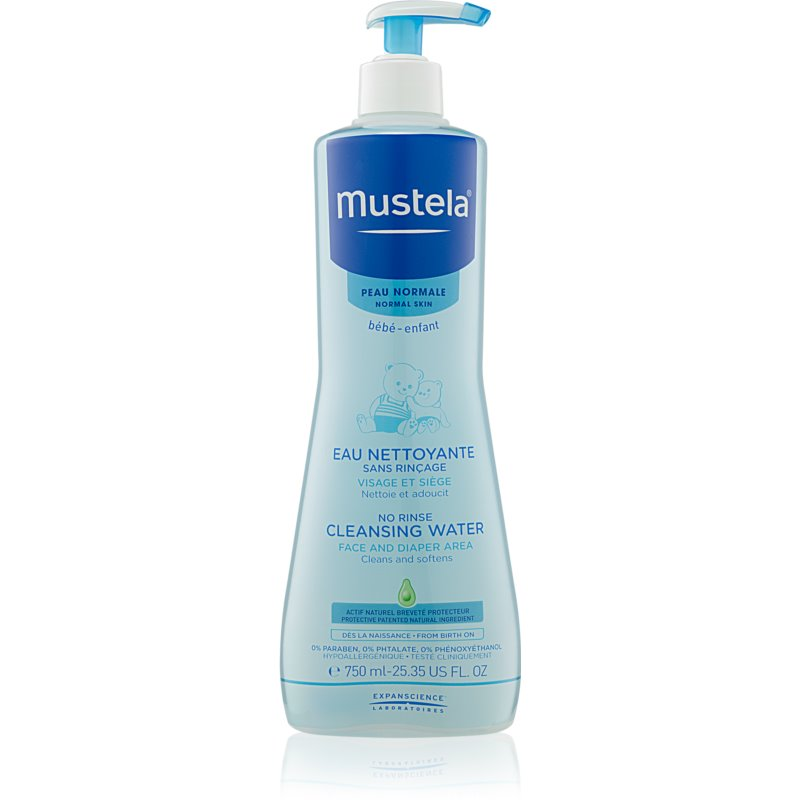 Mustela Bébé Cleansing Water 750ml