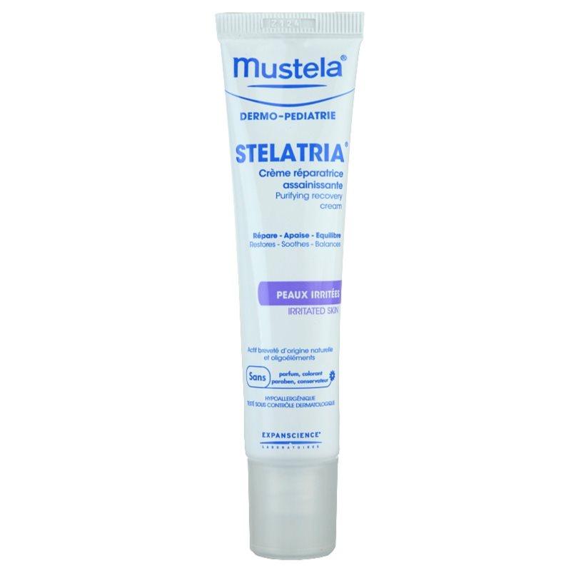 Mustela Dermo-Pédiatrie Stelatria regeneráló krém az irritált bőrre