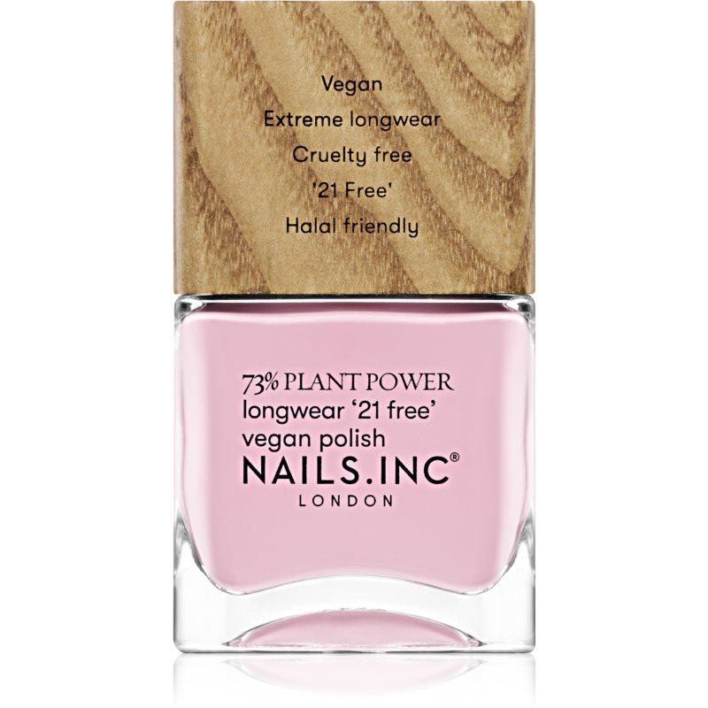 Nails Inc. Vegan Nail Polish dlouhotrvající lak na nehty odstín Everyday Self Care 14 ml
