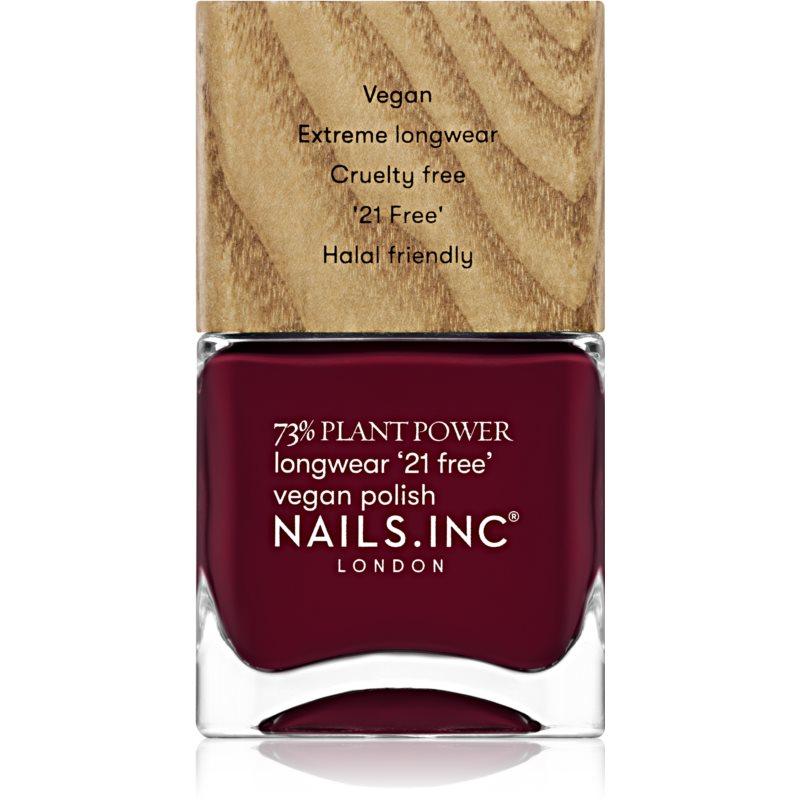 Nails Inc. Vegan Nail Polish dlouhotrvající lak na nehty odstín Flex My Complex 14 ml