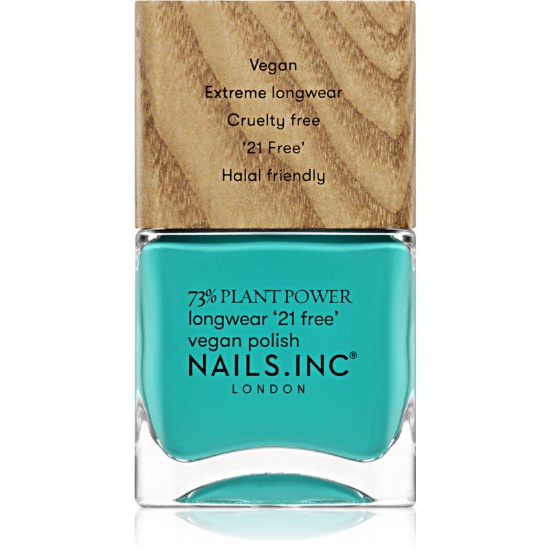 Nails Inc. Vegan Nail Polish dlouhotrvající lak na nehty odstín Just Avoca-do it 14 ml