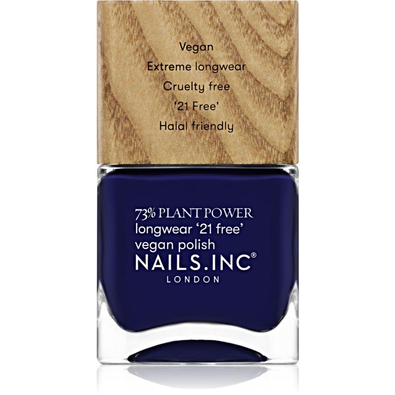 Nails Inc. Vegan Nail Polish dlouhotrvající lak na nehty odstín Spiritual Gangster 14 ml