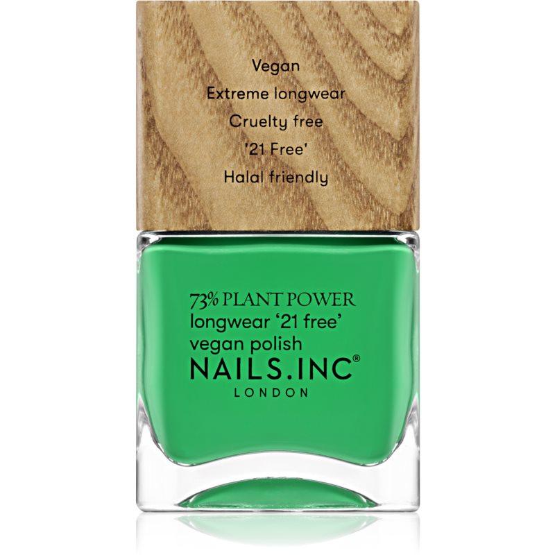 Nails Inc. Vegan Nail Polish dlouhotrvající lak na nehty odstín Mother Earth's Calling 14 ml