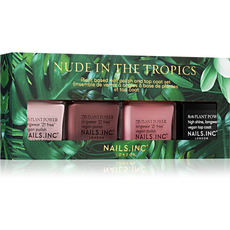 Nails Inc. Nude in theTropics dárková sada (na nehty)